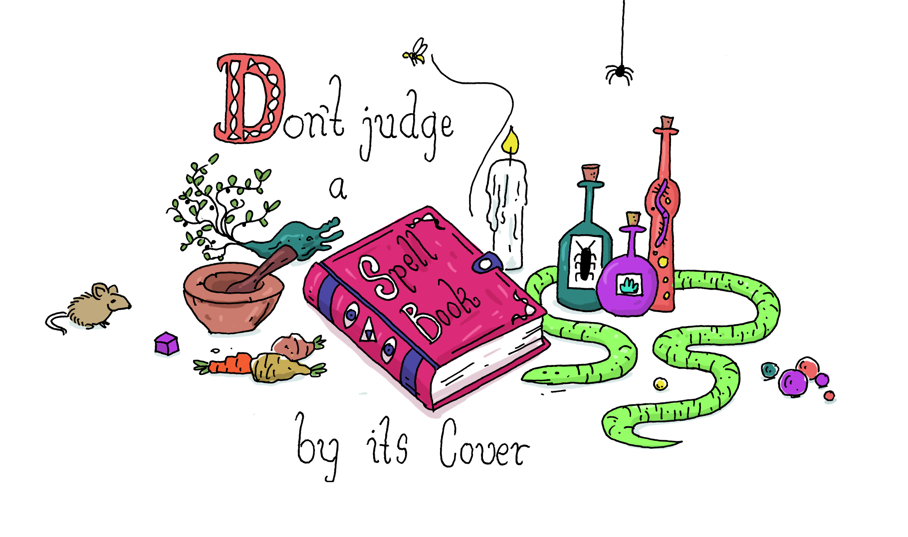 Don't judge a spell book by its cover